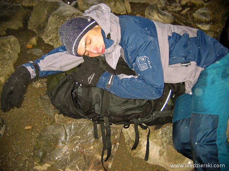 tatry akcja w jaskini