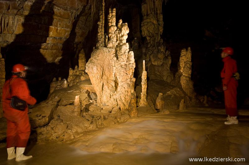 jaskinia Križna Jama nacieki