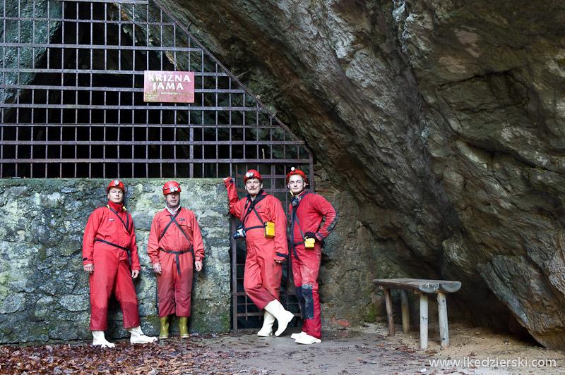 jaskinia Križna Jama wejście
