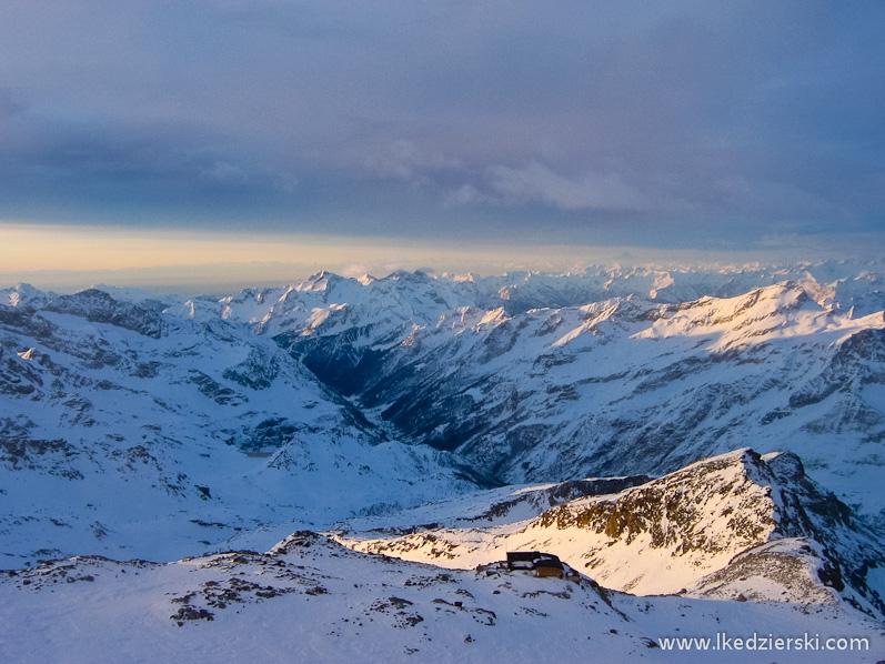 monte rosa krajobraz alp