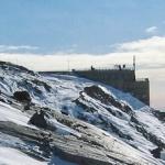 Monte Rosa: podejście do schroniska Gnifetti (3647 m. n. p.m.)