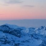 Monte Rosa zimą – schronisko Gnifetti (3647 m n.p.m.)