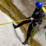 Kanion Morghe, czyli kanioning w Alpach Nadmorskich