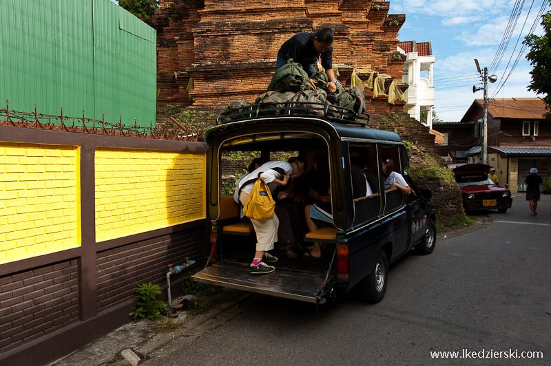 songwey w tajlandi tanie podróżowanie