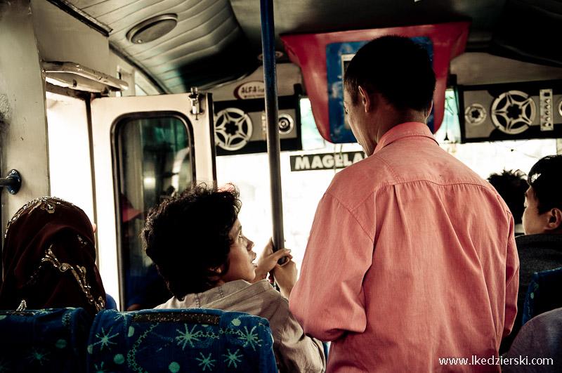 bileter w autobusie