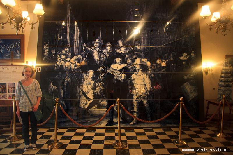 delft muzeum ceramiki stra nocna