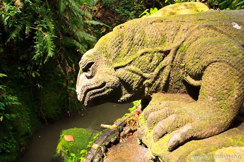 bali monkey forest rzeźba