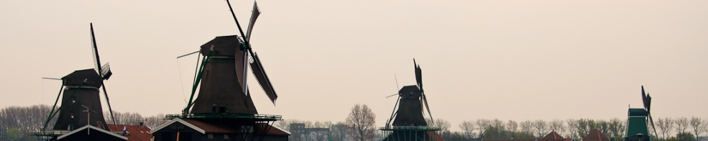 panorama holandia zaanse schans