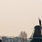Skansen Zaanse Schans – starodawne wiatraki
