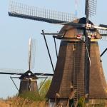 Kinderdijk – podobno najładniejsze wiatraki