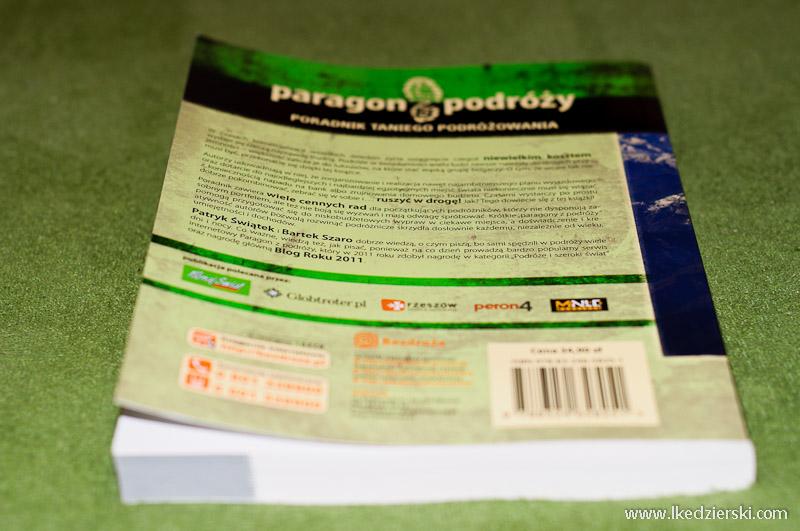 recenzja książki Paragon z podróży okładka