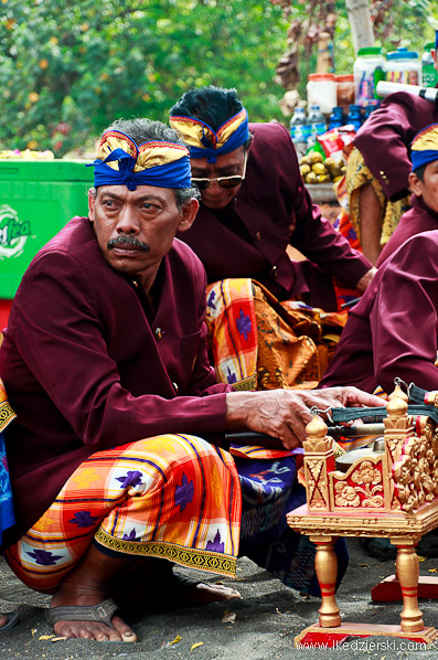 bali muzycy gamelan