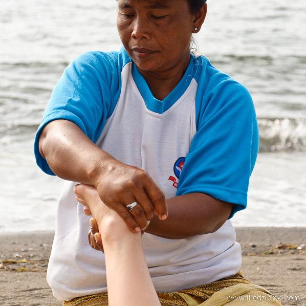 lovina masaż na plaży