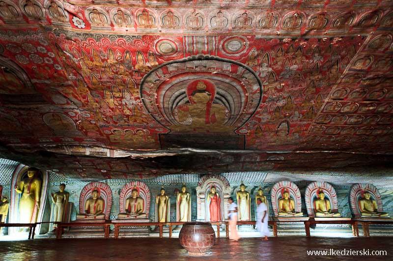 sri lanka podróż dambulla rock temple