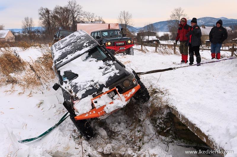 rajd off-road wypadek