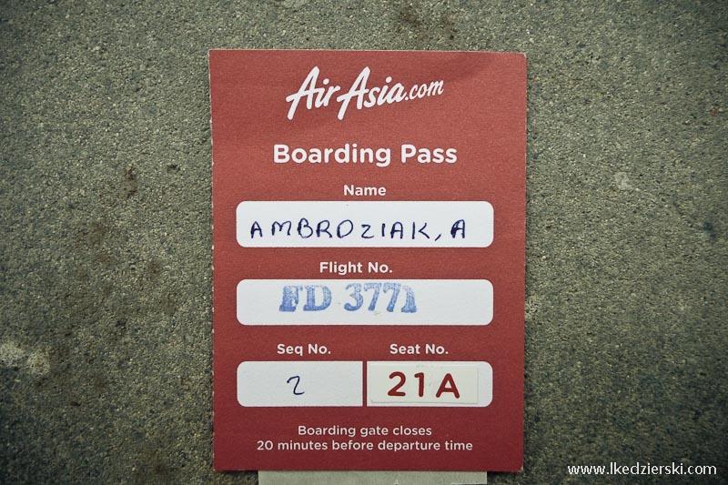 birma informacje praktyczne bilet