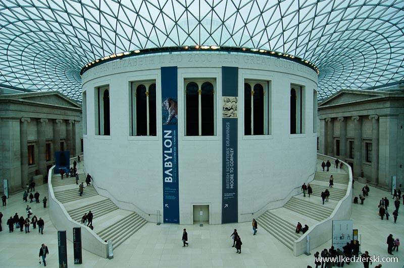 muzea londynu british museum