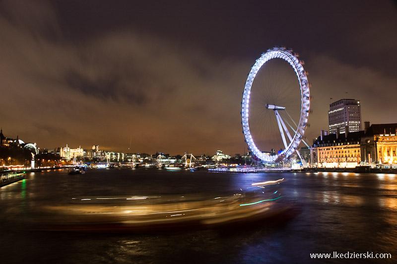 zwiedzanie londynu london eye panorama