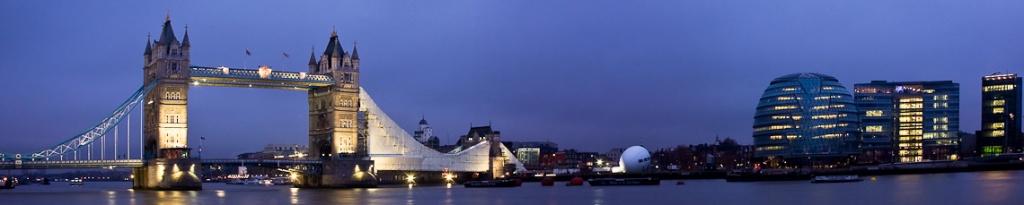 panorama londyn tower bridge