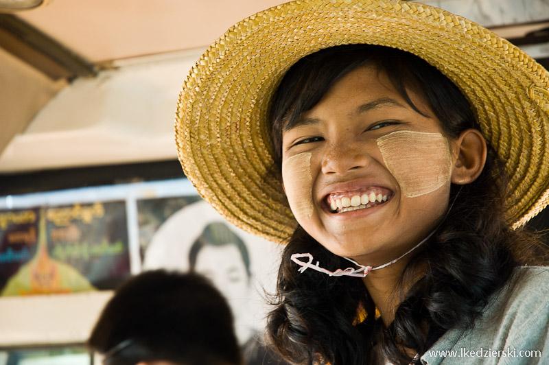 podróż do birmy thanaka