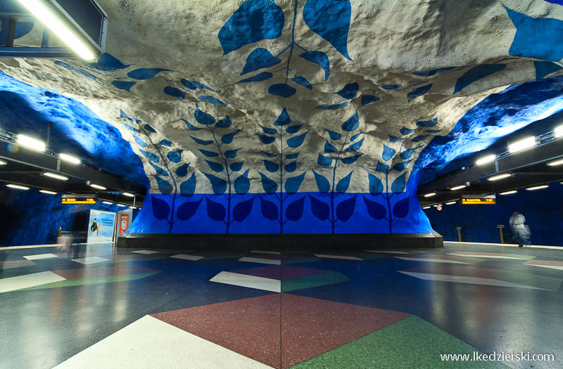 metro w sztokholmie t-centralen