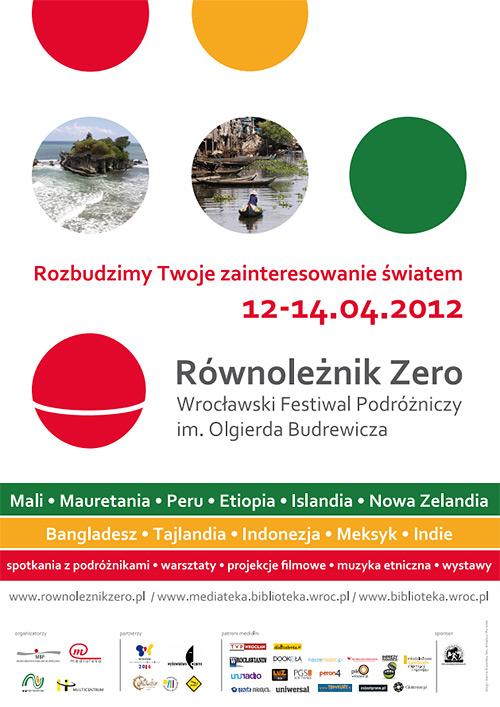 wrocławski festiwal równoleżnik zero plakat
