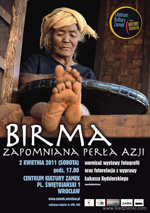 birma zapomniana perła azji plakat