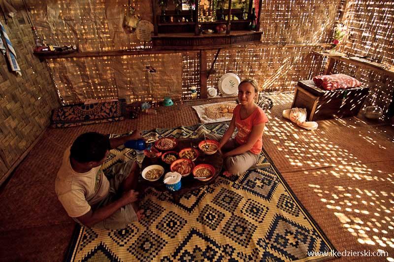 birma bambusowa chata