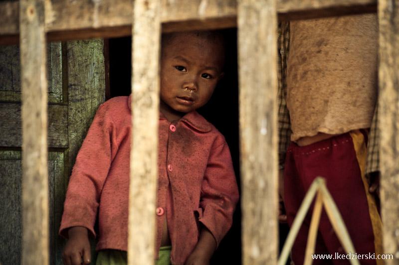 birmański chłopiec