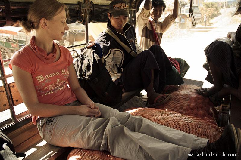birma cieżarówka