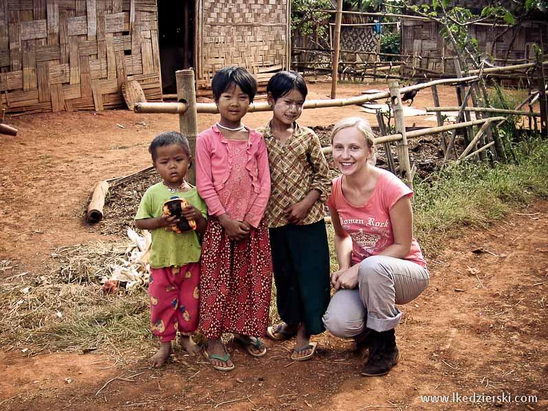 birmańskie dzieci