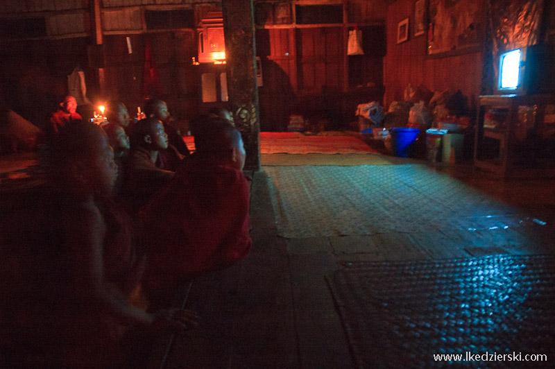Birma klasztor Warykyeemyavang