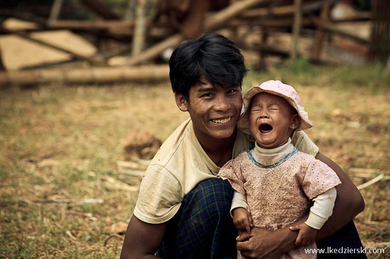 birma tata z córka