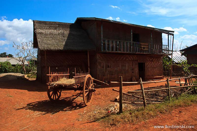 birmańska wioska