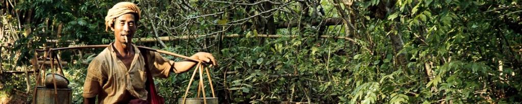 panorama birma trekking
