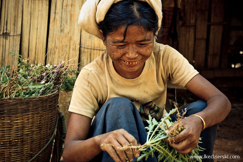 birmańska kobieta