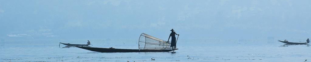 rybacy inle lake panorama