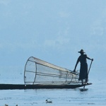 Rybacy z Inle Lake na fotografiach