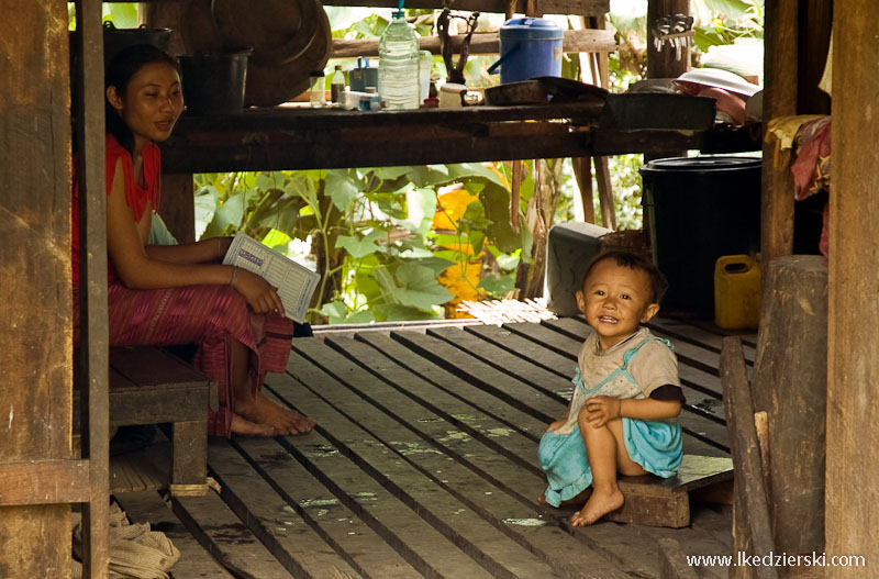tajlandia domek z bambusa