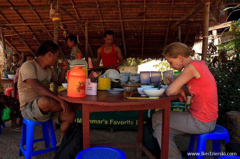 birmańska knajpa