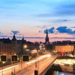 Wieczorny spacer po Sztokholmie