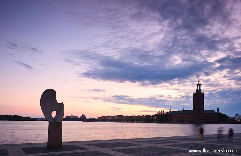 spacer po sztokholmie stadshuset
