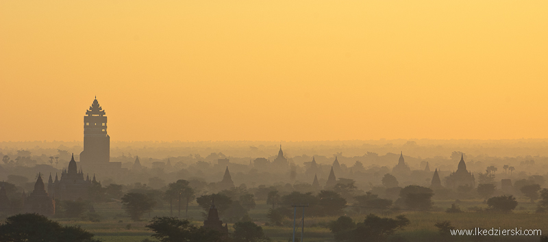 kraina tysiąca pagód bagan sunrise