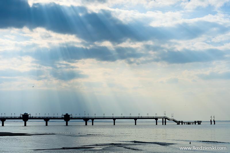 międzyzdroje molo polskie morze