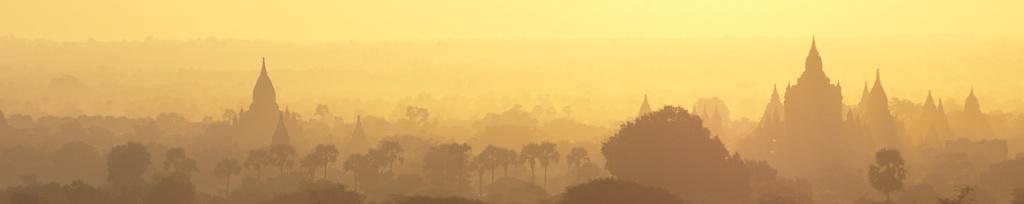 panorama bagan sunrise