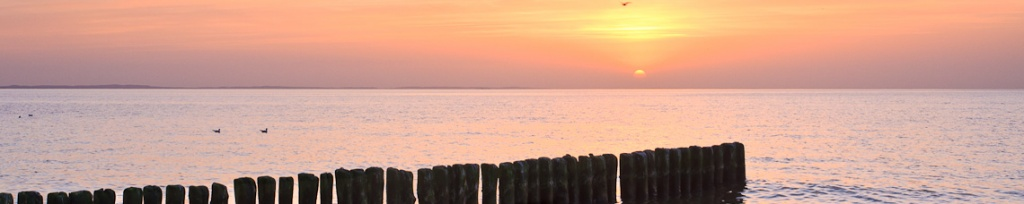 panorama zachód słońca