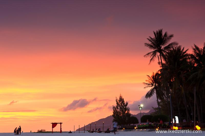 malezja langkawi sunset