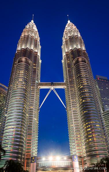 malezja petronas towers