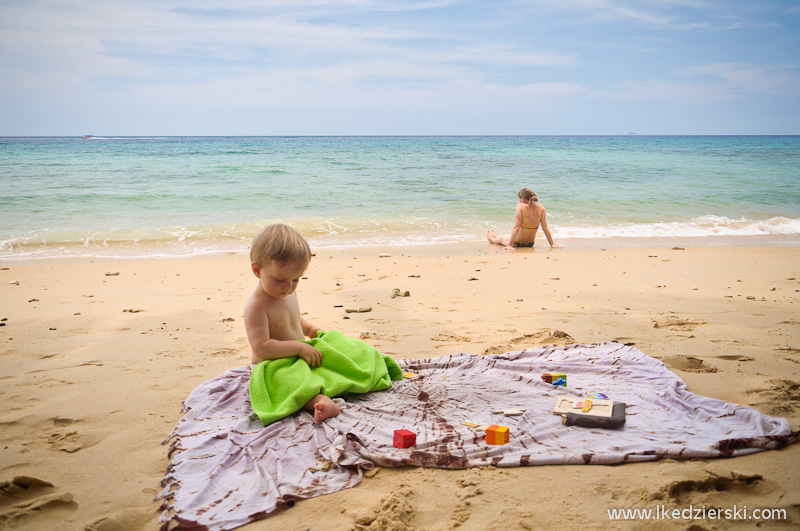 malezja tioman plaża