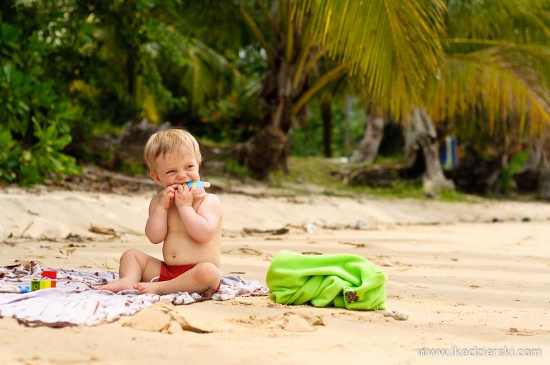 malezja nadia na plaży